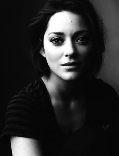 Marion Cotillard - she makes me want to trade my blonde locks for brunette..