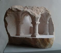 UNDERCROFT  Limestone  2012 Height 21cm