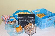 12th birthday, popcorn bar