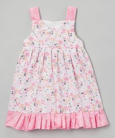 This Pink Floral Emma Jumper - Infant & Toddler is perfect! #zulilyfinds