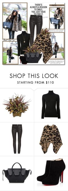 """There is always a reason to smile you just have to find it!!"" by lilly-2711 ❤ liked on Polyvore featuring Hedi Slimane, Alexander Wang, Acne Studios, Burberry, CÉLINE, Christian Louboutin and Betsey Johnson"