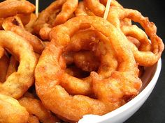 Gluten Free Onion Rings #recipes #celiac
