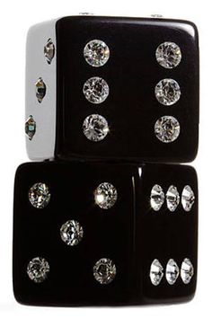 Gift Ideas for Holiday 2013 - Harper's BAZAAR - For the girl who has everything   Stylish Crystal Dice Set $98