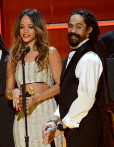 Rihanna and Damian Marley - The 55th Annual GRAMMY Awards Show.