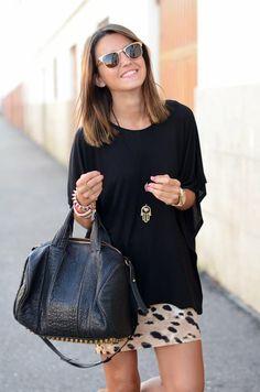 Leopard Tube Skirt - lifestylerstore - http://www.lifestylerstore.com/leopard-tube-skirt/