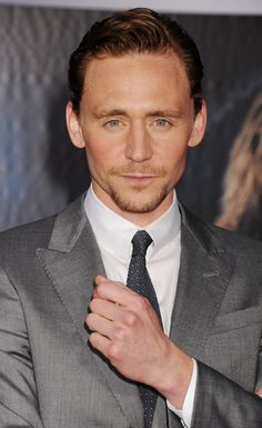 Tom Hiddleston. Why does he have to be so beautiful...