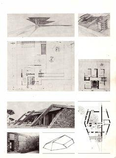 Τάκης Χ. Ζενέτος, 1926-1977 - Takis Ch. Zenetos, 1926-1977 Architectural Drawings, Modern Buildings, Architects, Floor Plans, Architecture Sketches, Paper, Dioramas, Architecture, Houses
