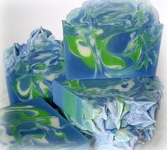 Spring Rain Artisian Luxury Soap Homemade Soap by NorasSoapScents