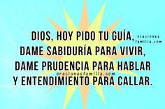 oracion a Dios pido ayuda al vivir
