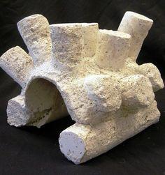 Minimalist stone sculpture by Sculpture 1 student