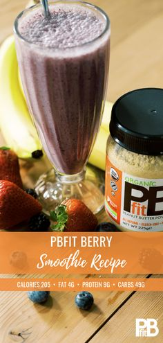PB Fit - We take away 90 of the fat and two-thirds of the calories. Try a few scoops in your smoothie for a tasty protein boost! Pb2 Recipes, Nutribullet Recipes, Protein Shake Recipes, Protein Shakes, Healthy Recipes, Juice Smoothie, Smoothie Drinks, Smoothie Recipes, Breakfast Smoothies