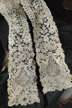 Brussels Duchesse Z Victorian Lace, Antique Lace, Vintage Lace, Needle Lace, Bobbin Lace, Lace Ribbon, Lace Fabric, Irish Crochet, Crochet Lace