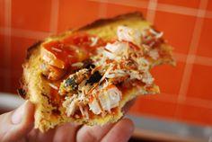 Desayuno: Té, Pastel Dukan, Flan de calabaza Comida: Pizza Frutti di Mare Dukan Merienda: Té, Flan de calabaza Cena: Papillote de Abad...