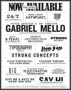 99 Best Creative Resumes Business Cards Images Creative Resume
