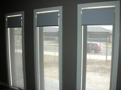 Possible bedroom and/or downstairs option (COMPACT DUAL ROLLER BLINDS)