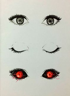 Резултат слика за tokyo ghoul eyes drawing
