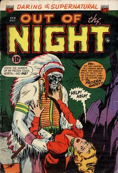 Comic Book Cover For Out of the Night #8