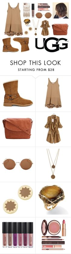 """""""The New Classics With UGG"""" by ana-silva-386 ❤ liked on Polyvore featuring UGG, N°21, Sunday Somewhere, Bee Charming, House of Harlow 1960, Palm Beach Jewelry, Anastasia Beverly Hills, Charlotte Tilbury, Casetify and ugg"""