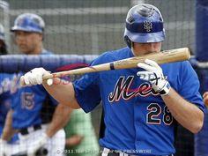 Daniel Murphy really loves his bat.