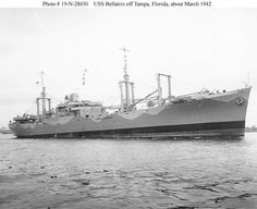 USS Bellatrix.     Walter Crocker served on this ship in WWII