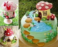 Magical Toadstool Cake Is Perfect For Parties | The WHOot