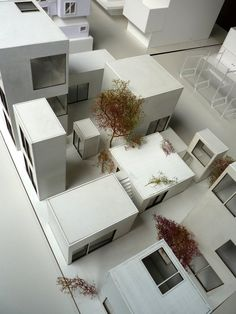 Moriyama House Real House by Ryue Nishizawa Model for Project 4 - School of Architecture, Paris-Malaquais