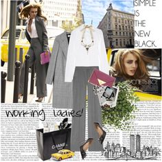 Working ladies!, created by netrobe.polyvore.com