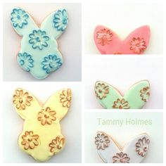 Easter, easter cookies, chic desserts, chic cookies, bunny cookies, easter ideas, dessert tables, spring,  spring cookies, tammy holmes