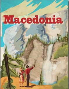 Vintage Yugoslavia Travel Poster