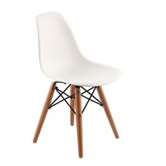 Replica Eames DSW Kid's Chair $ 49.00 comes in several different colors. @Amy-Jo Fischer what do you think for the kids area?