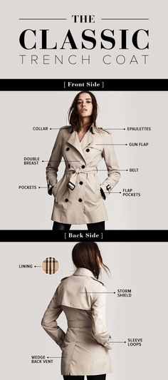 Whether you're in the market for a new trench or you've had the same one for over a decade, this classic coat is a piece that belongs in every woman's wardrobe. The sleek style actually has a rich history that allegedly dates back all the way to the 1850s. Originally worn by army officers, it's now a look that every street style star keeps in their arsenal. If you've ever wondered what the trench is all about (and why it has so many flaps and buckles), we've got you covered. Consider this…