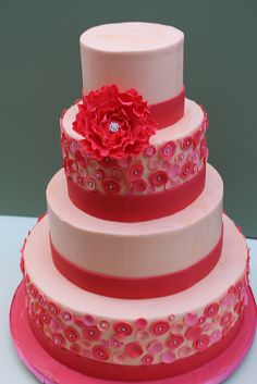 Red and Pink Buttons by Alliance Bakery, via Flickr