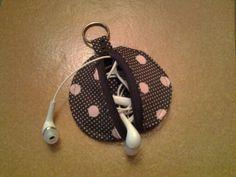 Mon range écouteurs