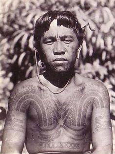 Warrior tattoo - the-Philippines