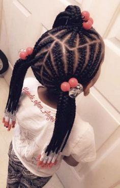Box Braids Hairstyles, Little Girl Braid Hairstyles, Black Kids Hairstyles, Little Girl Braids, Natural Hairstyles For Kids, Kids Braided Hairstyles, Braids For Kids, Girls Braids, Teenage Hairstyles