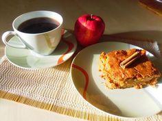 Αφράτη μηλόπιτα - Anthomeli Apple Pie, Waffles, French Toast, Recipies, Cooking, Breakfast, Sweet, Desserts, Blog