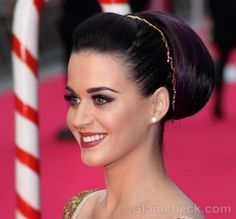 Katy Perry makeup hairstyle part of me UK premiere