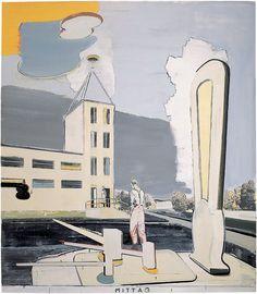 """Rauch, Neo(2003). """"Mittag"""" [Obra de arte]."""