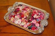 Creative ways to store your buttons!