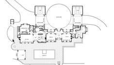 Mansion Floor Plans: 3115 Ralston Avenue, Hillsborough, California