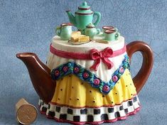 Te sobre el te..mmm teapot table