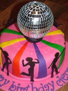 disco birthday cake - Google Search