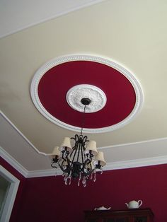 All Time Best Tips: Wooden False Ceiling Cove false ceiling design for balcony.False Ceiling Design For Porch false ceiling kids interior design. Ceiling, Ceiling Medallions, Red Ceiling, House Ceiling Design, Ceiling Tiles, Accent Ceiling, Ceiling Design, Tray Ceiling, Ceiling Lights