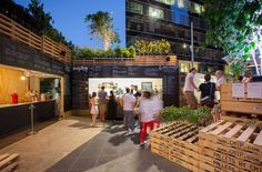 Urban Coffee Farm and Brew Bar by HASSELL, Melbourne   Australia hotels and restaurants exhibit design