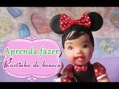 COMO MODELAR ROSTINHO DE BONECA EM BISCUIT. - YouTube