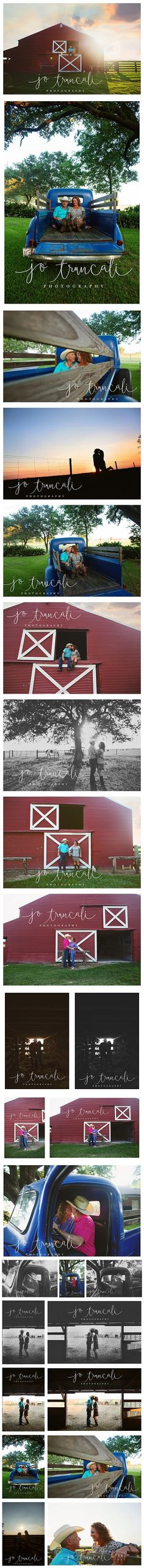 Ranch-Style Engagement Session || Jo Truncali Photography Beaumont Family Photographer