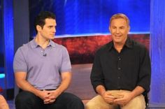 Henry Cavill-June 2013-Katie Couric Show