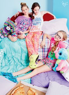 Slumber Party Perfect Pajama Sets | Justice