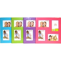 your zone 13x13 four-opening pinwheel paper frame, assorted colors