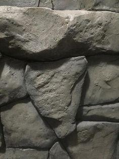 Faux Stone Walls, Faux Walls, Concrete Leaves, Concrete Art, Plastic Grass, Artificial Rocks, Fake Rock, Plaster Crafts, Papercrete